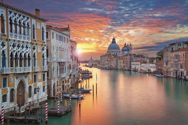En el Gran Canal veneciano