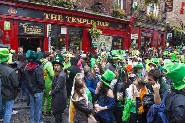 Dublín en San Patricio, dónde viajar en marzo