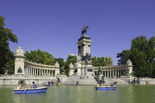 Parque del Retiro Madrid, qué hacer con niños en Madrid