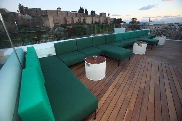 Mejores terrazas de Málaga