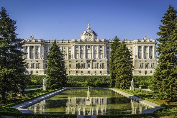 Jardines del Palacio Real Madrid