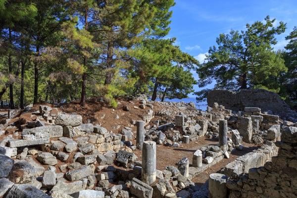 Ruinas de Phaselis, Antalya