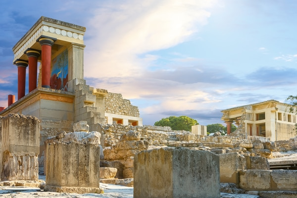 Palacio Knossos Creta
