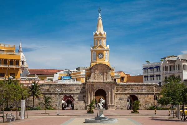 Torre del Reloj Cartagena de Indias