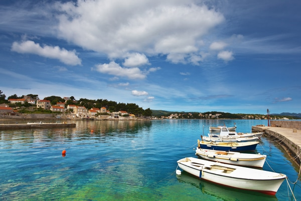 Lumbarda, Croacia
