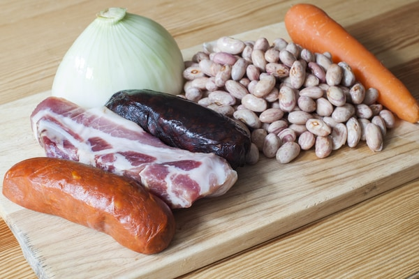 Ingredientes fabada asturiana