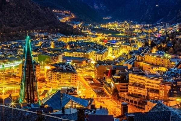 Andorra con niños panorámica