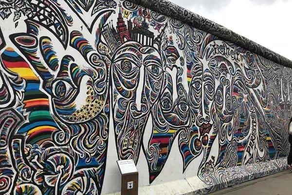 Muro de Berlín, East Side Gallery