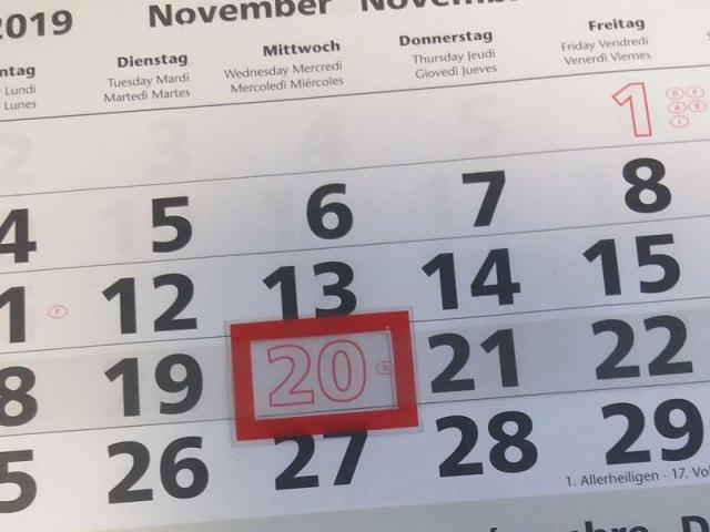 Auch in 2019 wieder Buß- und Bet-Tag in Sachsen ein F(r)eiertag
