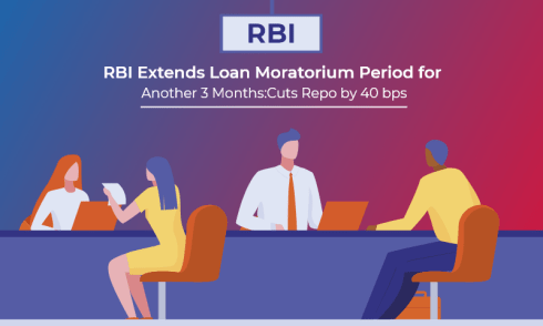 RBI Extends Loan Moratorium Period for Another 3 Months; Cuts Repo by 40 bps
