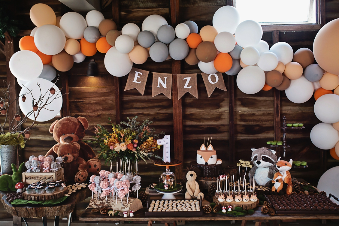 Enzos Wild One First Birthday Party At Spicers Hiddenvale