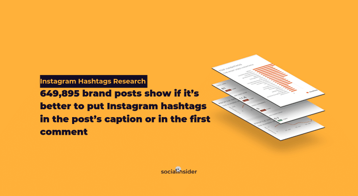 Instagram Hashtags Research by SocialInsider
