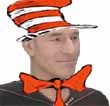 [Captain Picard looking like the cat in the hat]