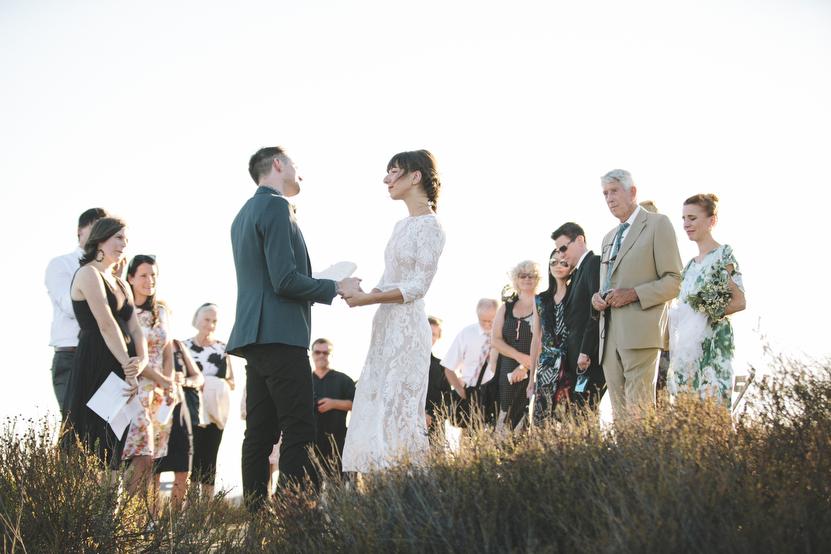Rad + In Love Topanga Canyon Wedding