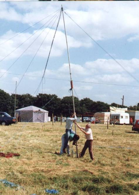 Knowl Hill Steam Rally, early 1980s.