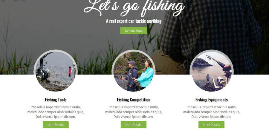 Added New Theme : Fishing