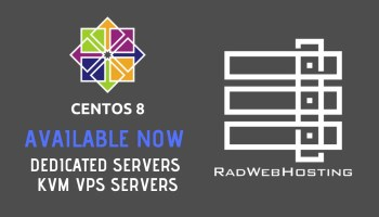 CentOS 8 Now Available on VPS and Dedicated Servers