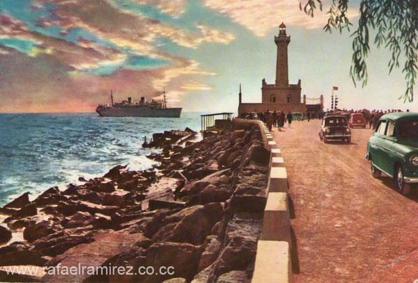 Barcelona - Postal años 40-50