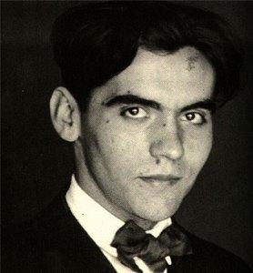 Federico García Lorca a los 18 años
