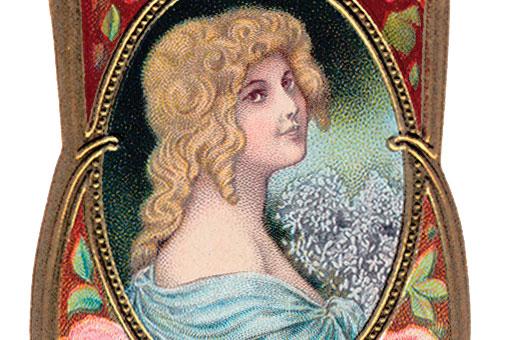 Lady Marian. Etiqueta vintage