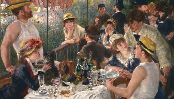 Renoir: Almuerzo de remeros