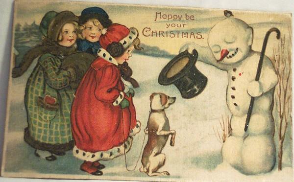 Postales navideñas vintage