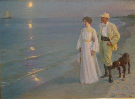 1899_Sommeraften_ved_Skagens_strand__Kunstneren_og_hans_hustru