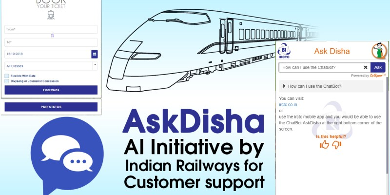 Ask Disha- Latest AI Initiative by Railways