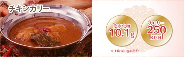 チキン インドカレー 糖質制限