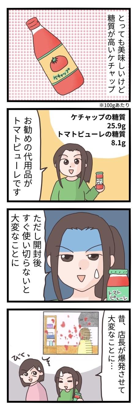 トマトケチャップ 糖質制限