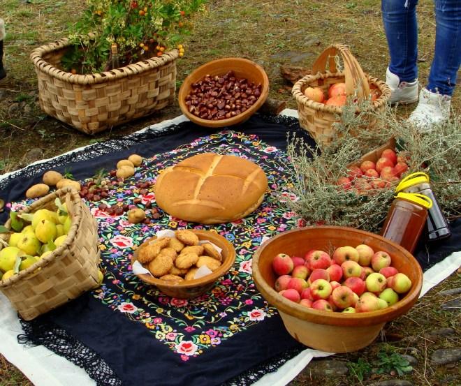 Los frutos del otoño están presentes en la fiesta