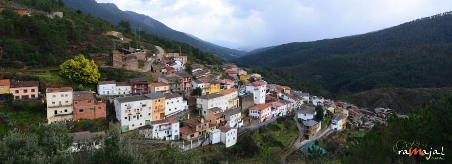 El mayor  y más próspero pueblo de las Hurdes en 1922