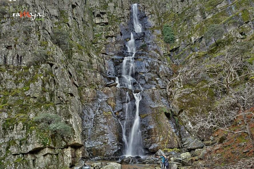 Cascada Chorro de la Meancera las Hurdes