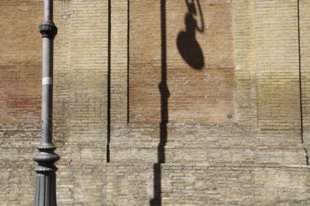 Laternenschatten auf der Muro Torto