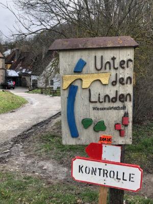 Tafeln: Unter den Linden / Kontrolle