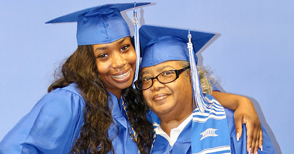 68-Year Old Grandmother and Her 22-Year Old Granddaughter Graduate From College… Together!