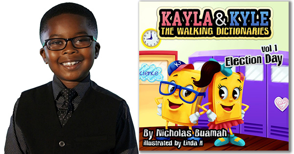 7-Year Old Author Introduces New Book Series That Expands Children's Vocabularies