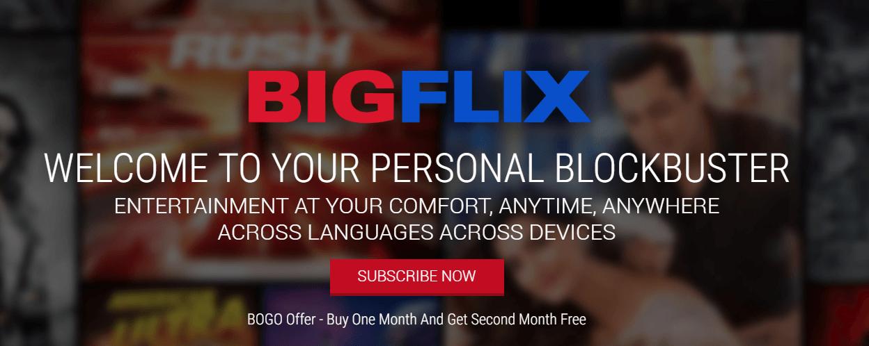 BIGFlix API