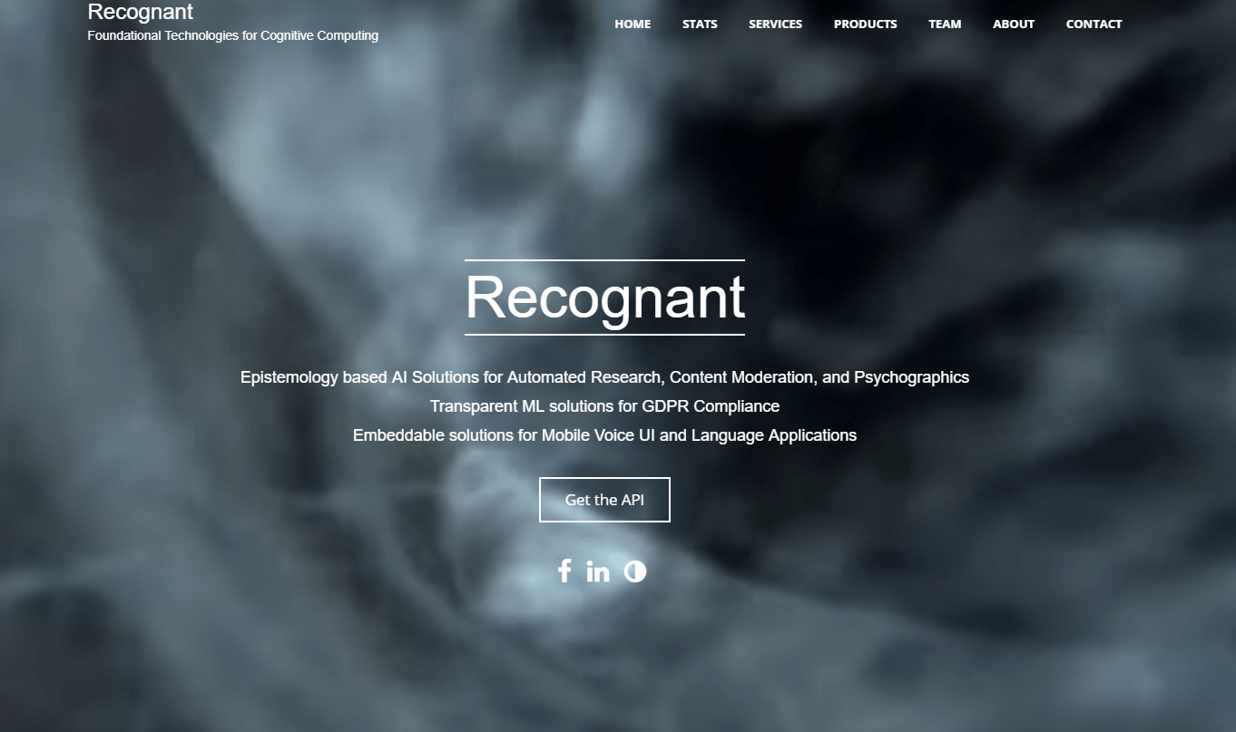 Recognant Natural Language Processing API