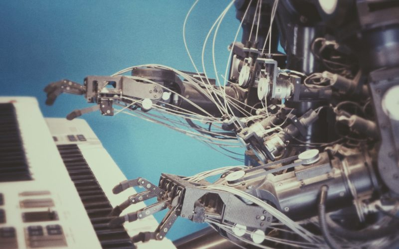 machine learning to play piano