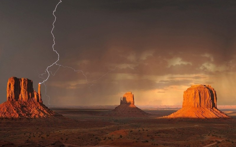 Weather in Monument Valley
