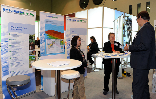 Kooperationsabkommen GIZ und EANRW am 13.11.2013, Messe Essen