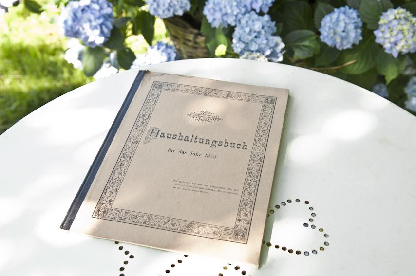 Ein altes Haushaltsbuch