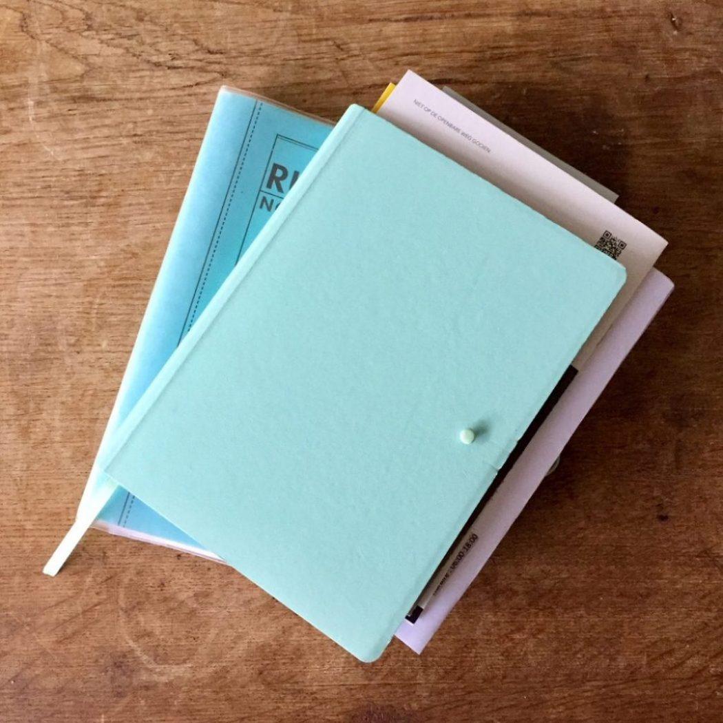 Zeit anhalten mit Notizen
