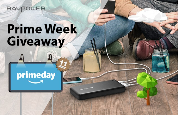 RAVPower Prime Week Giveaway Sales Promo