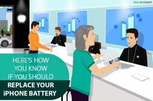 Apple Store Genius Bar RAVPower Replace Your iPhone Battery
