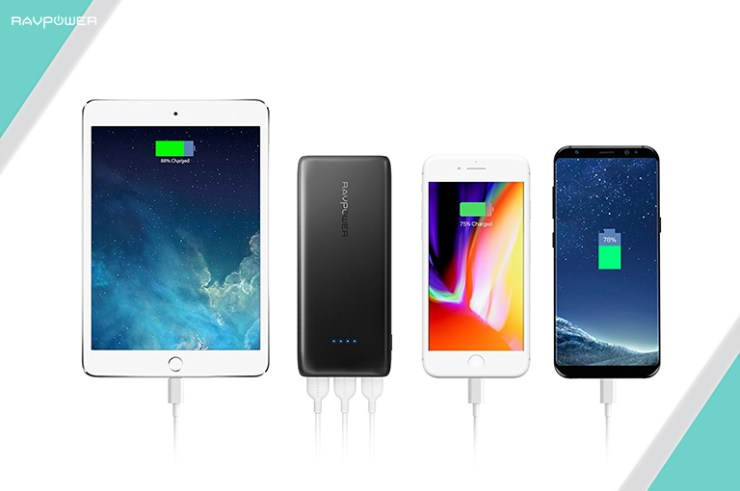 mobile device in cold weather samsung apple iPhone iPad RAVPower Best Charger