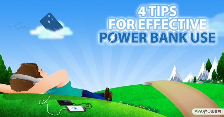 Four Tips Effective Power Bank Use RAVPower Guide Man Field Green Grass Bill Hicks