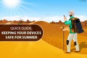 Charger (getting) too hot; charging safely in high temperatures RAVPower summer guide Anker power bank overheating charger heating