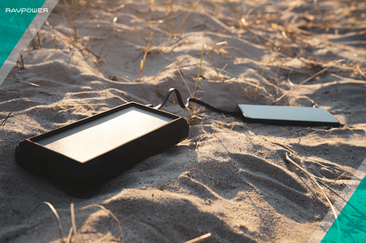 solar charger beach charging iphone safety protections overcharge samsung phone